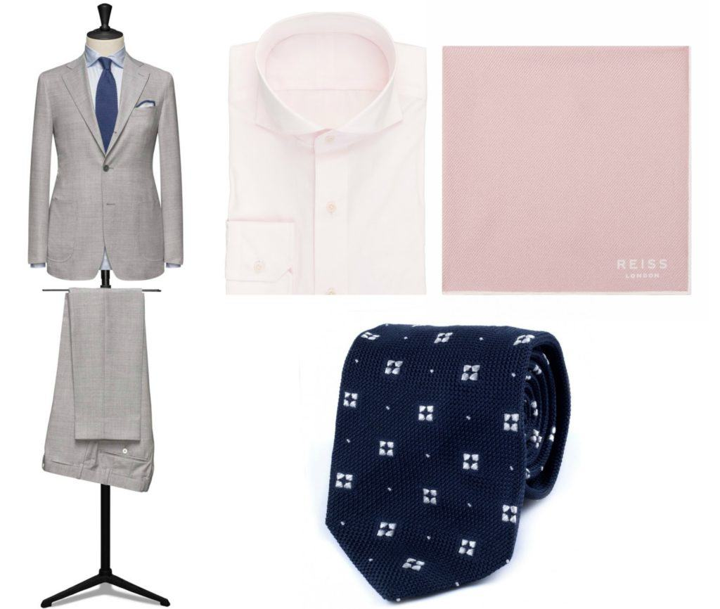 Light Grey Suit Outfit